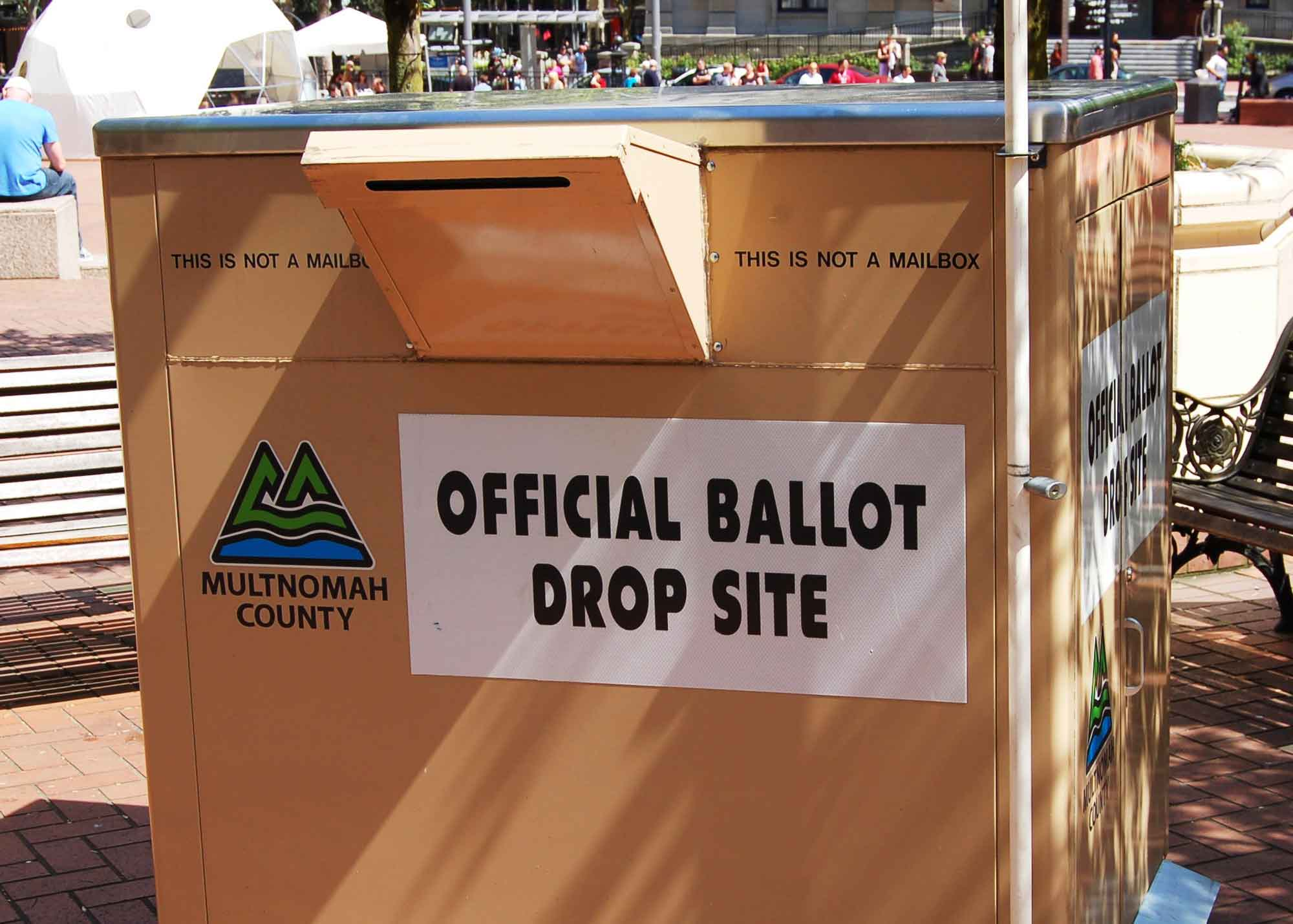 Ballot Box, Multnomah County