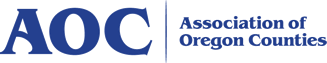 Association of Oregon Counties Retina Logo