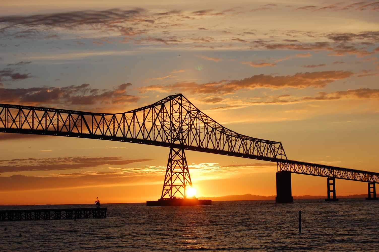 Clatsop County Astoria-Megler Bridge, Image Credit Tom Bennett