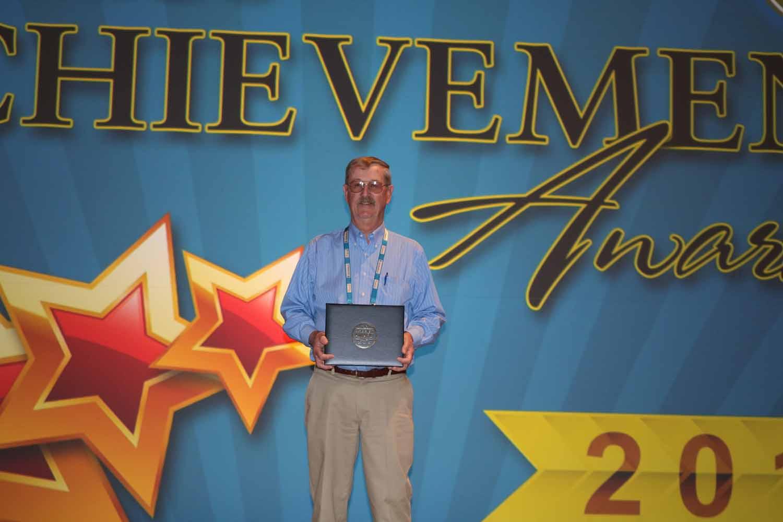 Judge Thompson with NACo Achievement Award
