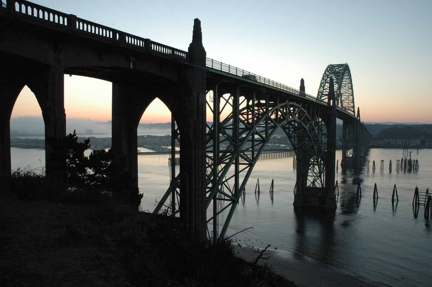 Lincoln County Newport Bridge, Image Credit Newport Chamber of Commerce