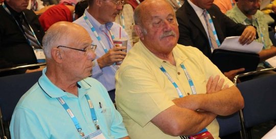 Umatilla Co Commissioners Larry Givens & George Murdock
