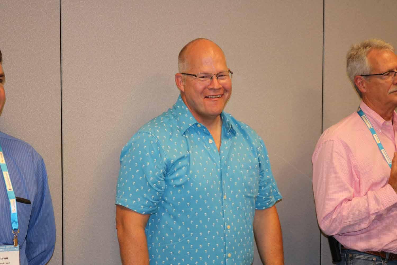 Washington County IGA Manager Jim McCauley