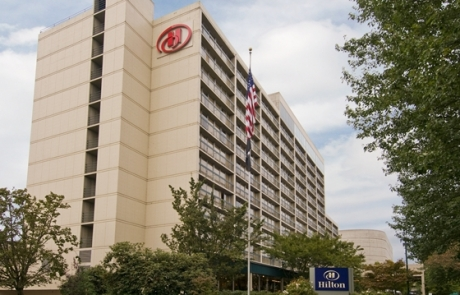 Hilton Hotel Eugene Exterior