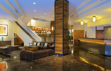 Hilton Hotel Eugene Reception