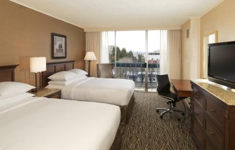 Hilton Hotel Eugene Guest Room