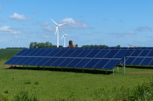 Renewable energy at The Laurels Farm