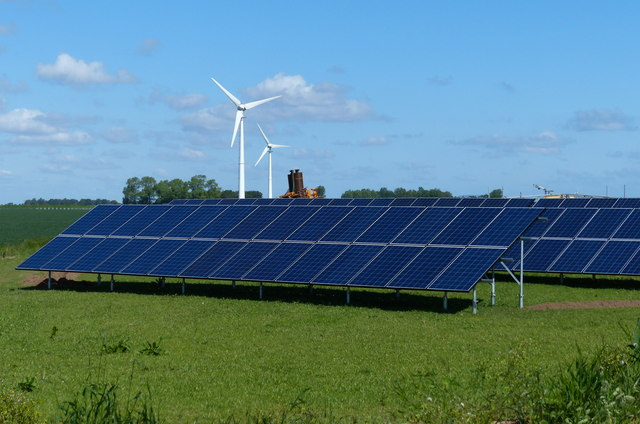 photo credit: creative commons - Renewable energy at The Laurels Farm
