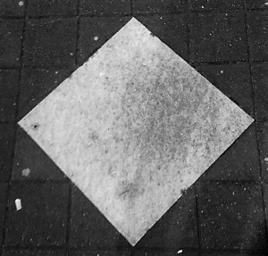 Blank paver