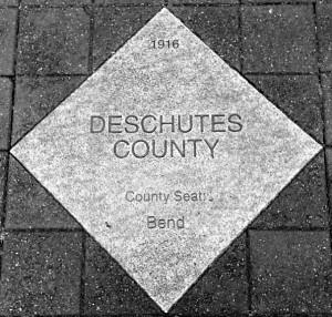 Deschutes County paver