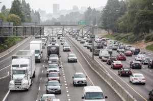 traffic on I5, file photo Portland Tribune