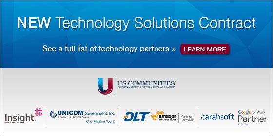 US Communities - Tech Solutions Contract header