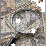 20 bill and magnifying glass puzzle_Image by Images Money (taxrebate_org_uk) Creative Commons via flickr