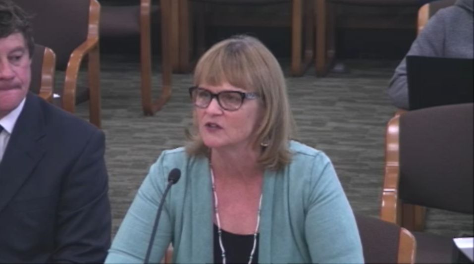 Commissioner Wheeler Giving Testimony Before Veterans Committee on May 25, 2016