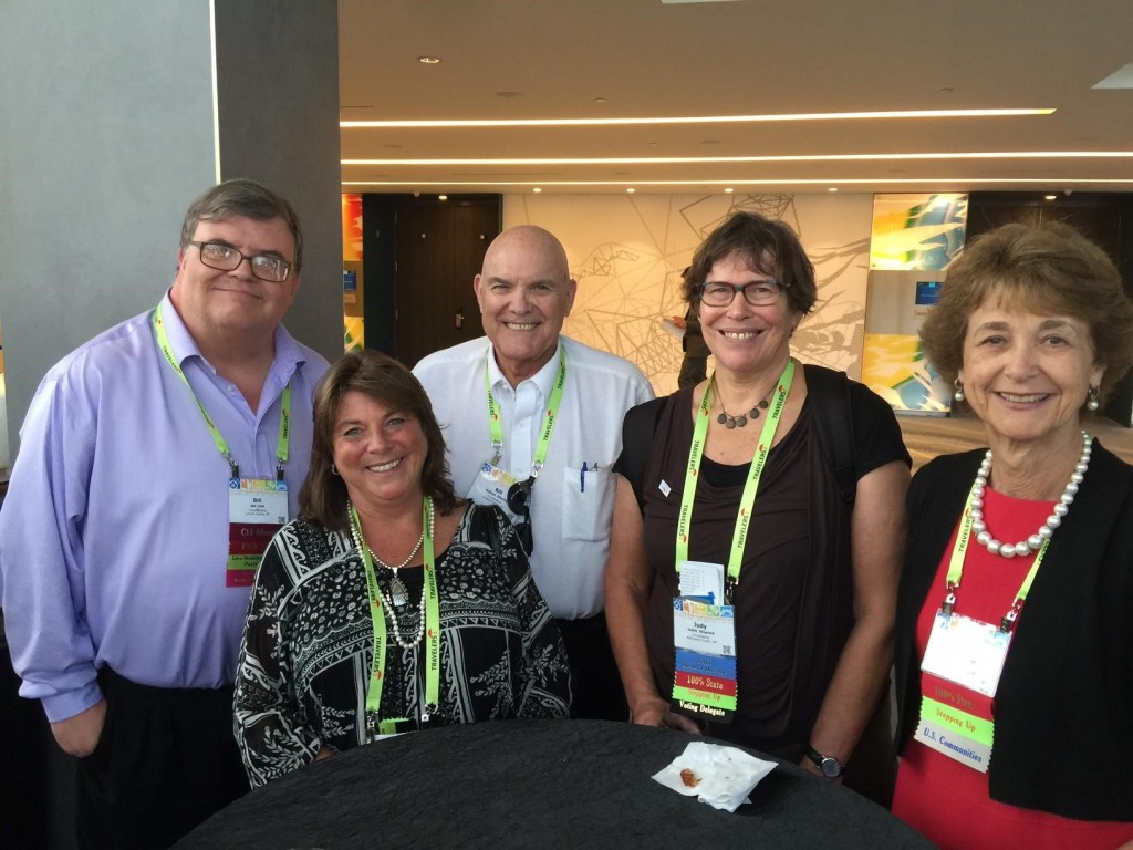 Oregon County Commissioners Bill Hall, Martha Schrader, Bill Elfering, Judy Shiprack and Diane McKeel Successfully Led the Charge for Veterans Advocacy Language in NACO's 2016 Platform