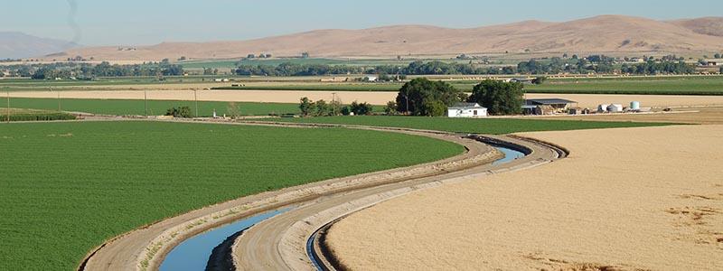 fields in Malhuer County Oregon