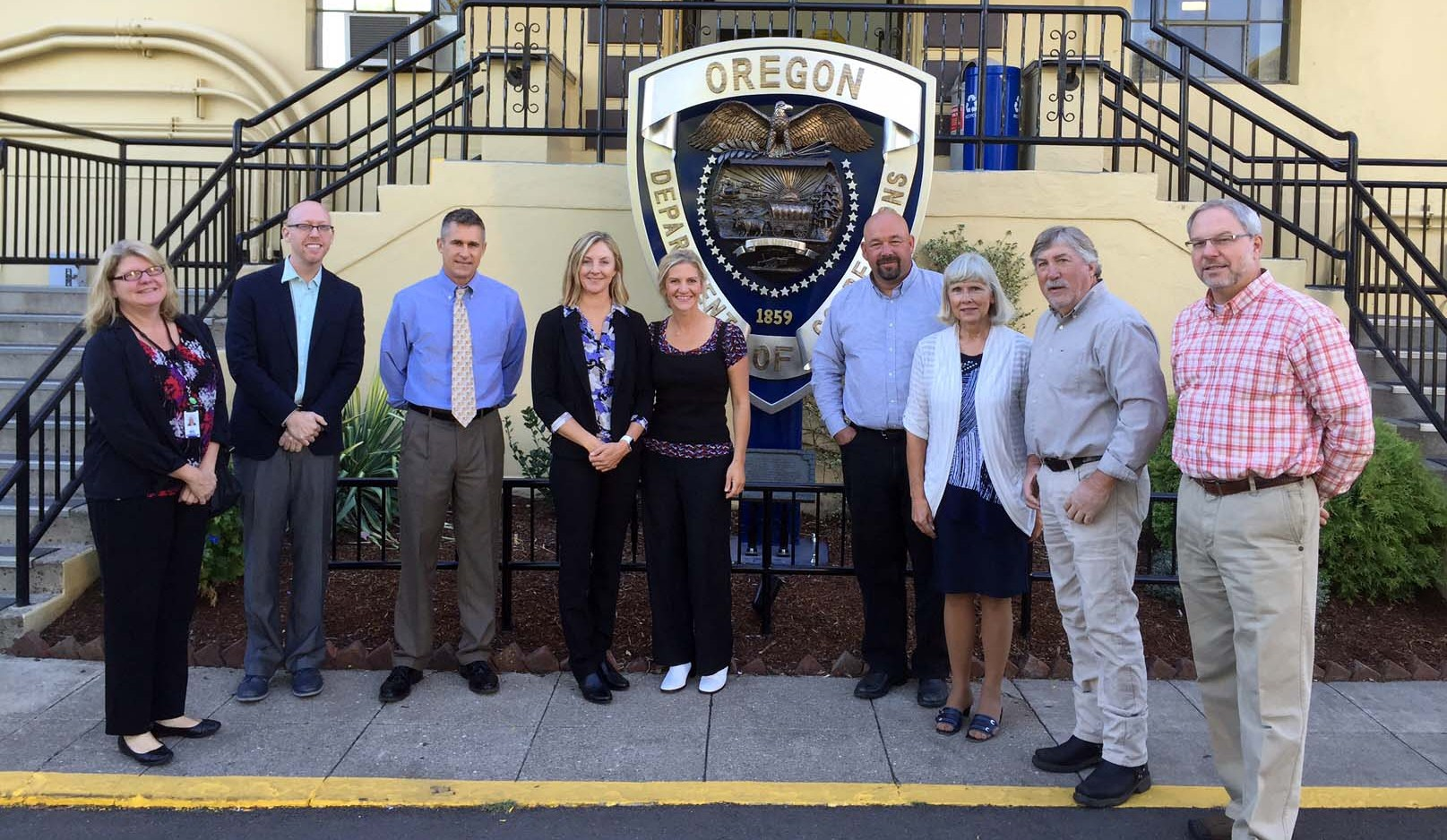 Oregon County Commissioners visit Oregon State Penitentiary 2016-09-12