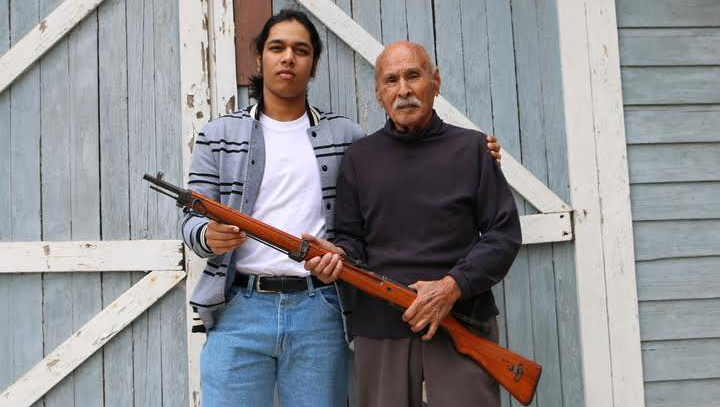 Ceasar Morales, a World War II veteran, poses with Rishi Sharma as part of the Heroes of the Second World War project, an undertaking by the California teen in which he is trying to interview as many vets as possible. Kale Williams | The Oregonian/OregonLive