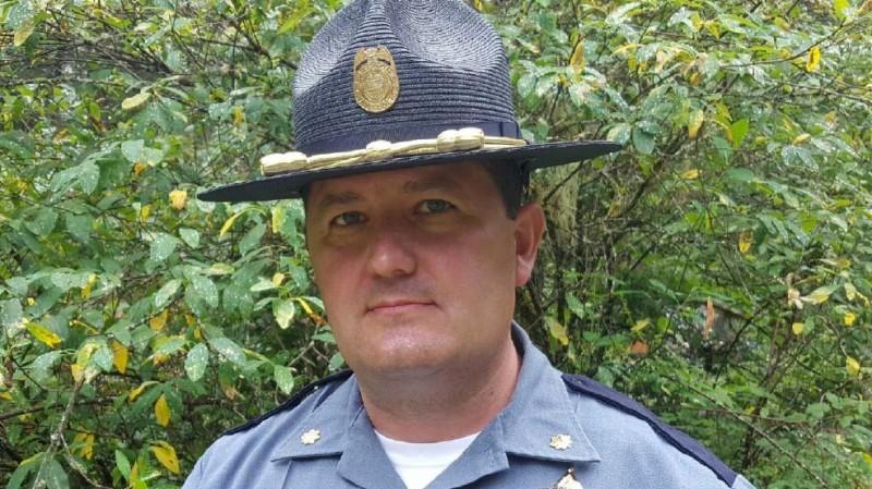 Oregon State Police Major Travis Hampton