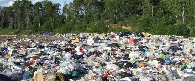 One of several landfills used by Dryden, Ontario, Canada.