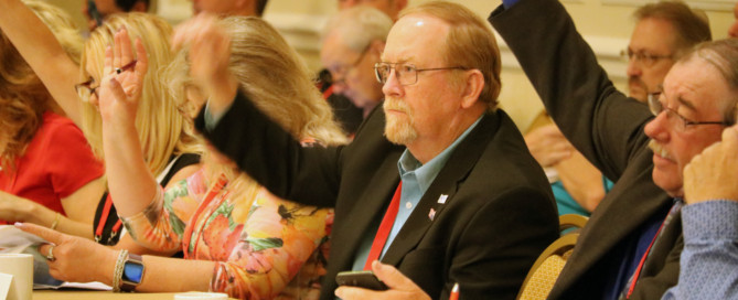 Commissioner Craig Pope (Polk County) attends the NACo Agriculture and Rural Affairs Steering Committee meeting.