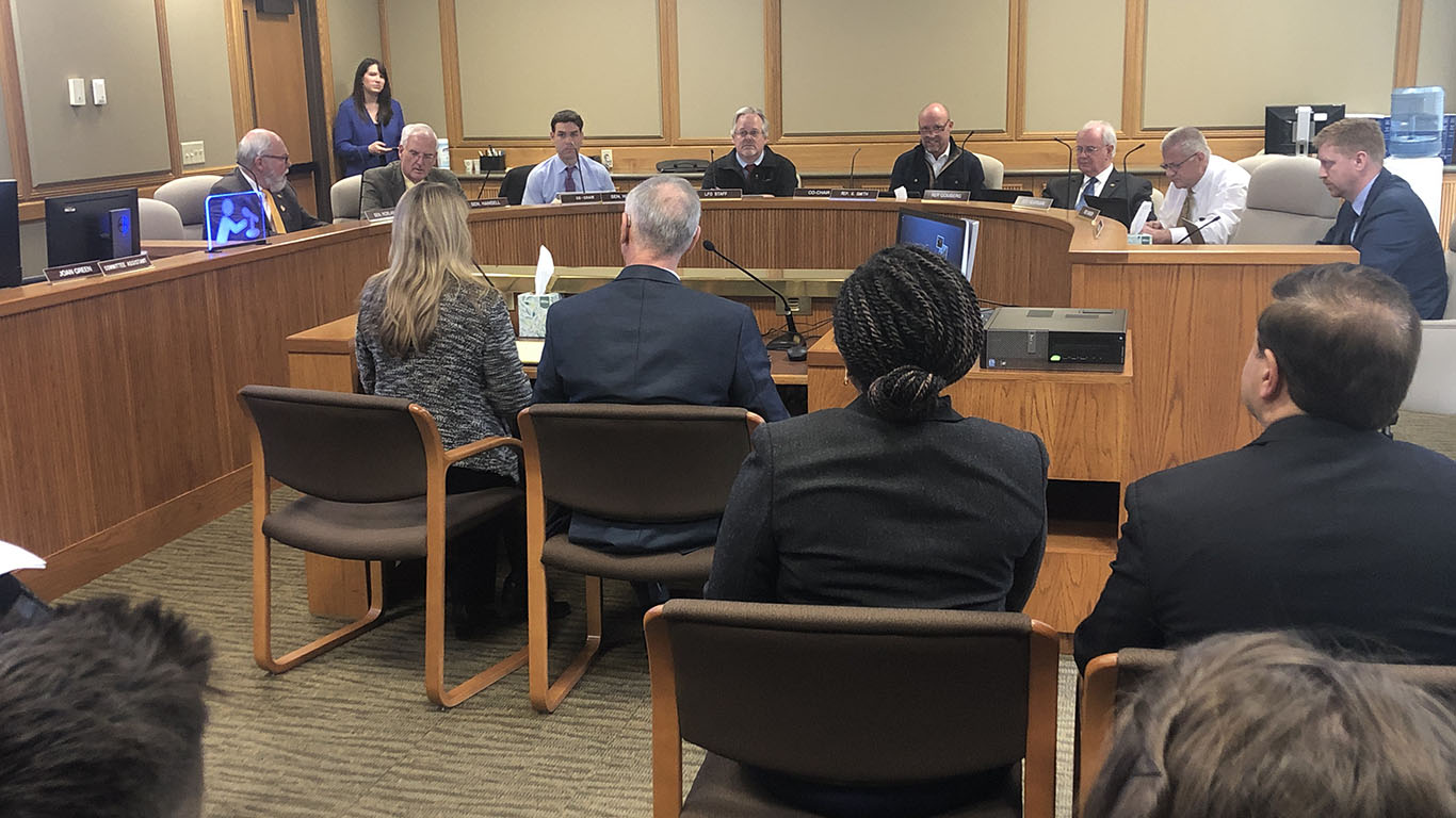 Commissioners testify on county fair funding