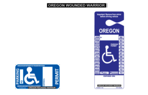 Wounded Warrior Placard/Decal