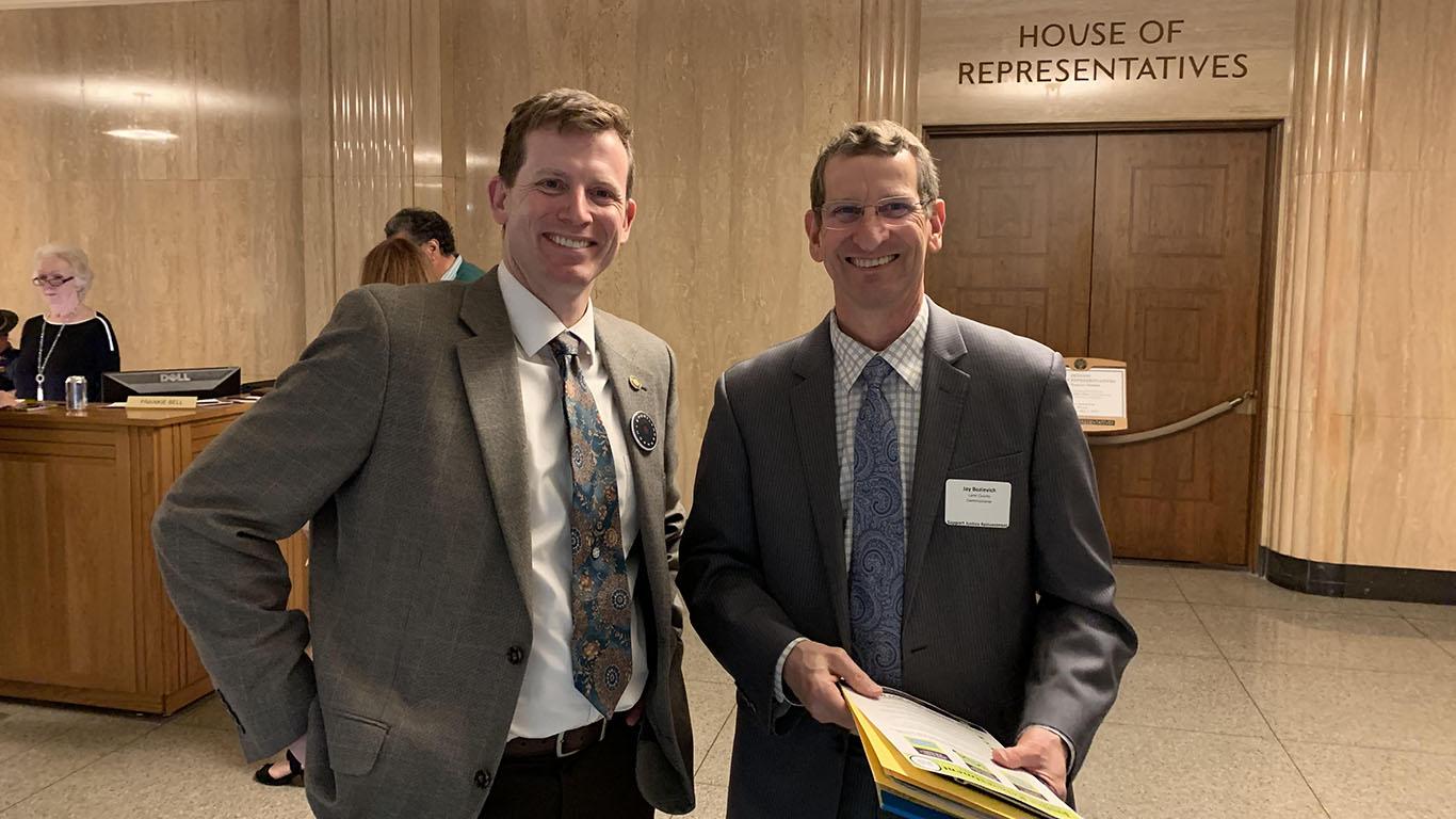 AOC meets with legislators for JRI Advocacy Day