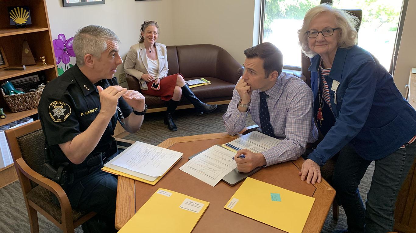 AOC Meets with Legislators on Justice Reinvestment
