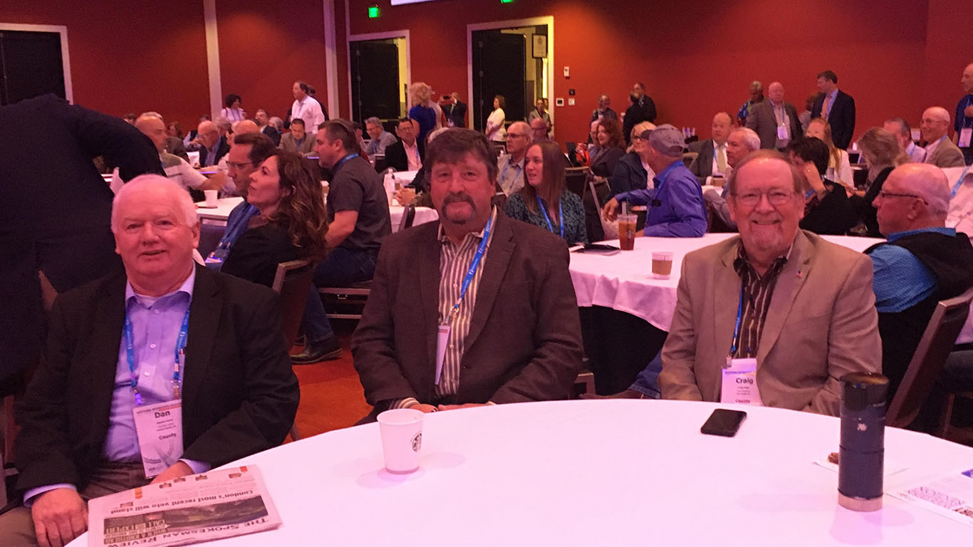 Oregon Commissioners gathering at WIR Conference
