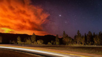 Milepost 97 Fire PHOTO CREDIT: Ross Steensland ODF